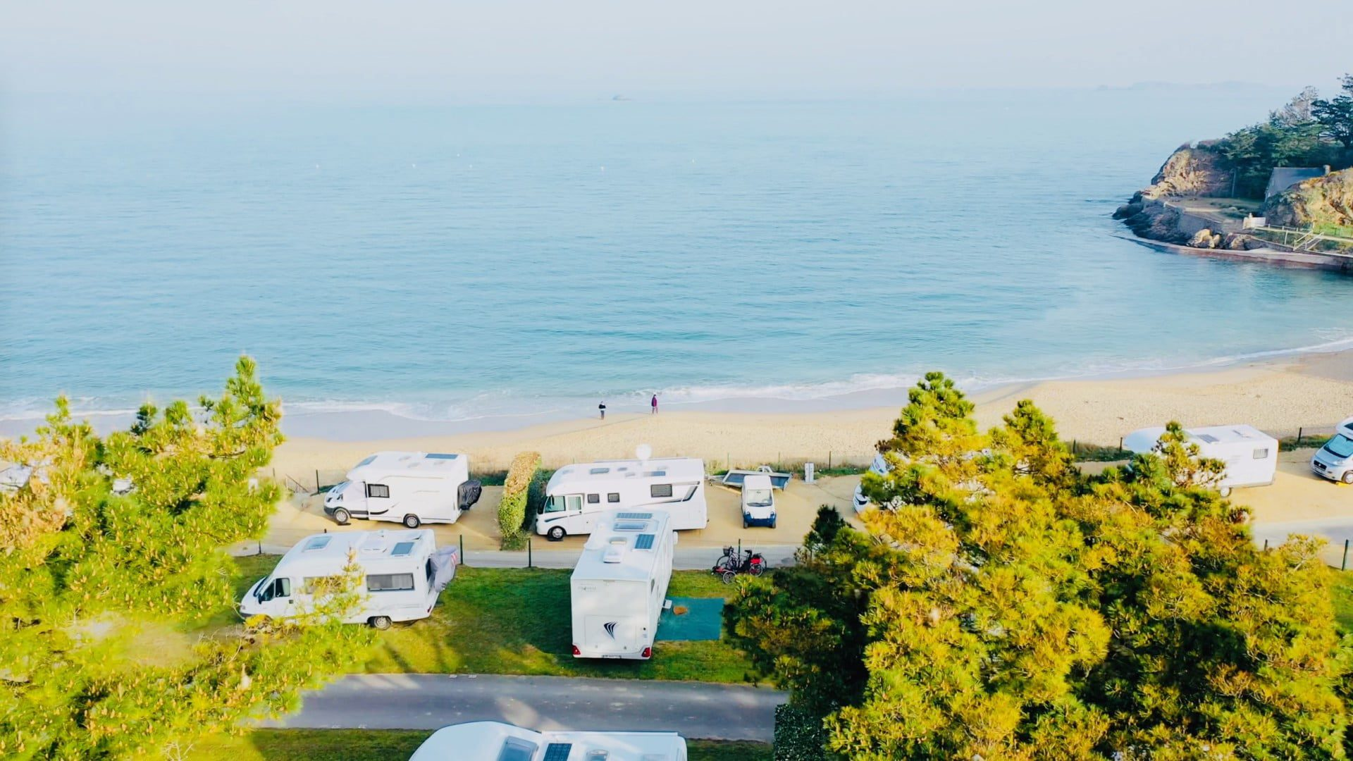 Camping-Port-Blanc-DINARD-Vue-Mer-vacances-plage-nature